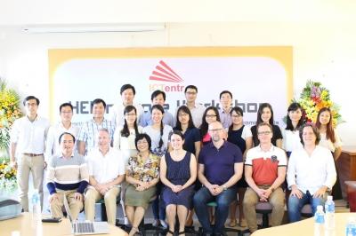 Hội thảo công cụ đánh giá và giải pháp phát triển các đơn vị đào tạo đại học - Dự án Hỗ trợ phát triển khởi nghiệp trong lĩnh vực Công nghệ thông tin ở các trường đại học Việt Nam (ICTentr) - Erasmus+