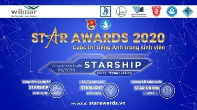 Cuộc thi tiếng Anh trong sinh viên Star Awards năm học 2019 - 2020 với chủ đề Technovation - Đổi mới sáng tạo, khoa học công nghệ