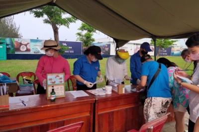 Dấu ấn sinh viên tình nguyện Đại học Đà Nẵng đồng hành cùng thành phố phòng, chống dịch Covid-19