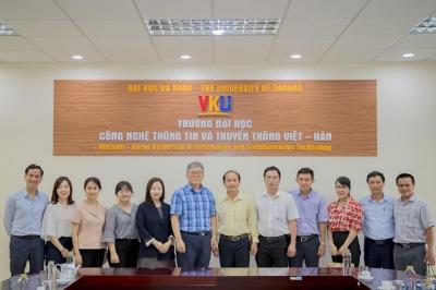 Tiếp và làm việc với cơ quan hợp tác quốc tế Hàn Quốc (KOICA)