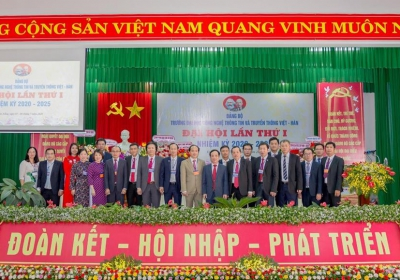 Đại hội Đảng bộ Trường Đại học Công nghệ Thông tin và Truyền thông Việt - Hàn lần thứ I, nhiệm kỳ 2020 - 2025