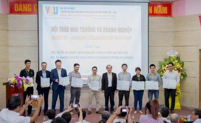 100 đại biểu tham dự hội thảo hợp tác giữa nhà trường và doanh nghiệp
