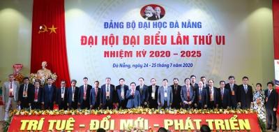 Đảng bộ Đại học Đà Nẵng tổ chức thành công Đại hội đại biểu lần thứ VI, nhiệm kỳ 2020-2025: Trí tuệ-Đổi mới-Phát triển
