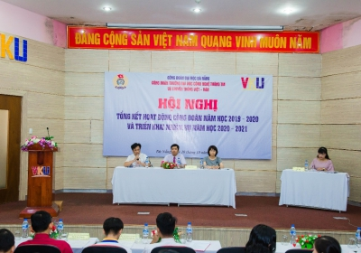Hội nghị Tổng kết công tác công đoàn năm học 2019-2020  và triển khai công tác công đoàn năm học 2020-2021