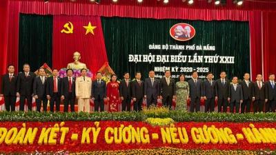 Đoàn đại biểu Đại học Đà Nẵng tham dự, đóng góp trí tuệ vào thành công của Đại hội Đảng bộ thành phố Đà Nẵng lần thứ XXII, nhiệm kỳ 2020-2025