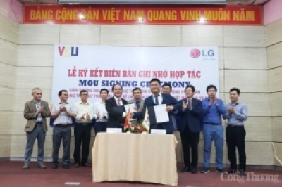 """LG """"đặt hàng"""" nhân lực chất lượng cao với Đại học công nghệ thông tin – truyền thông Việt Hàn"""