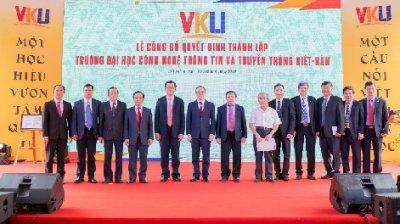 VKU: 01 năm thành lập - 10 thành quả nổi bật (03/01/2020-03/01/2021)