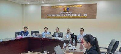 Thành công của đợt đánh giá FS Dự án ODA Nâng cao năng lực Đào tạo, Quản trị và Nghiên cứu