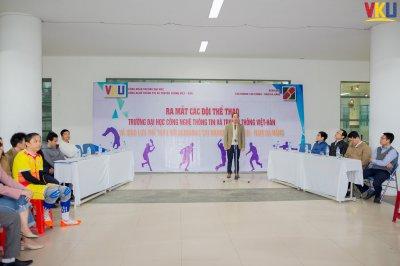 Ra mắt các đội thể thao và giao lưu thể thao với Agribank chi nhánh Tân Chính - Nam Đà Nẵng