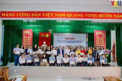 VKU tổ chức thành công tập huấn về xây dựng và phát triển CTĐT đáp ứng tiêu chuẩn KĐCL giáo dục