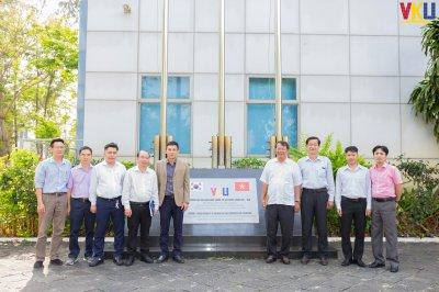 VKU tiếp và làm việc với Trường Đại học Thủ Dầu Một - Bình Dương