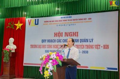 Trường Đại học Công nghệ Thông tin và Truyền thông Việt - Hàn tổ chức Hội nghị Quy hoạch các chức danh quản lý, giai đoạn 2020 - 2025 và 2025 -2030