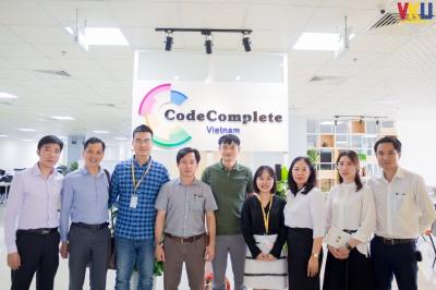 VKU thăm và làm việc với Công ty CodeComplete VietNam và Công ty Cổ phần Công nghệ Tâm Hợp Nhất (Unitech):  Tạo cầu nối cho Sinh viên và Doanh nghiệp