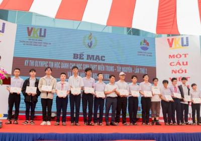 Tổng kết và trao giải Cuộc thi Olympic Tin học dành cho học sinh THPT khu vực miền Trung - Tây Nguyên lần thứ 2